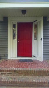 Fall Break 2014. Red door.